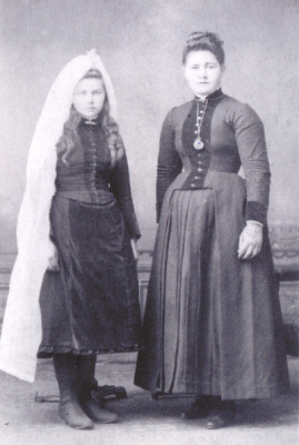 Catherine McCarthy and Ellen McCarthy, 1889